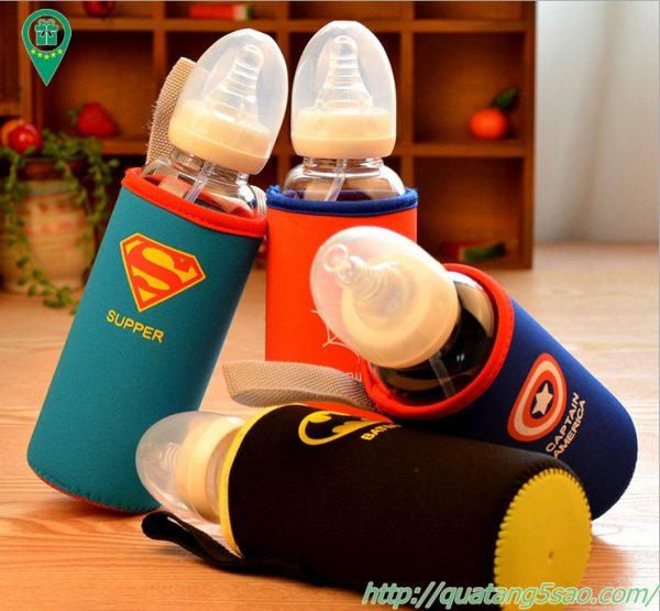 Túi giữ nhiệt bình sữa, chai sữa, in logo theo yêu cầu